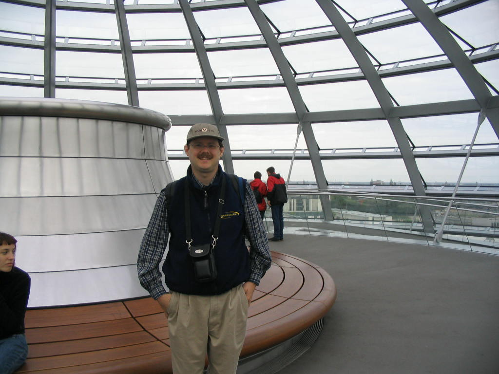 Roger at the Reichstag Dome