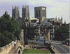 The historic city of York